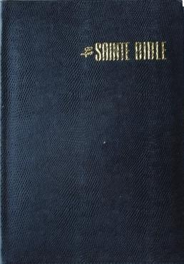 Bible Esaïe grand format texte confort