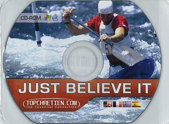 CD-ROM Carte just believe it