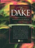 KJV Dake Annotated Reference Bible Large Print Edition Black Bonded Leather